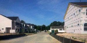 New homes being built in West Columbia
