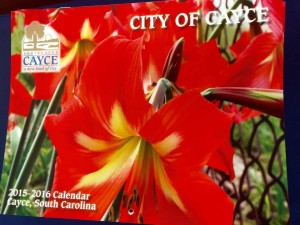 Cayce's 2015-16 Calendar. Photos by Ashley Hunter, City of Cayce.