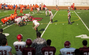 Bearcat Backers hold BBQ, football team scrimmages