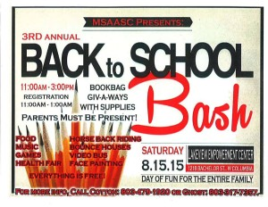 Back to School Bash is Saturday, in West Columbia