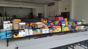 Holland Avenue Baptist Church delivers school supplies for those without