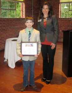 Student battling brain cancer gets LMC Foundation Award
