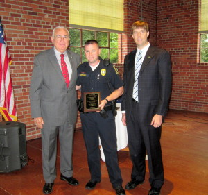 Patrolman Jonathan Watkins is Officer-of-the-Month