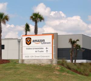 Amazon advertises immediate openings, locally