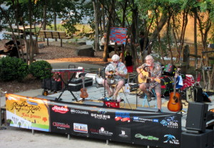 First Rhythm on the River Fall Concert is held
