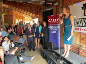 Carly Fiorina Spoke in Lexington Wednesday