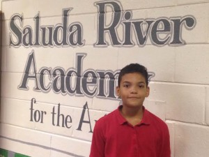 Charles Warren, Saluda River fifth-grader helps save woman in distress