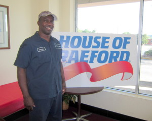 Chuck Oree develops career, family feel at West Columbia House of Raeford