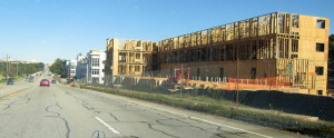 Cayce luxury apartment complex takes shape