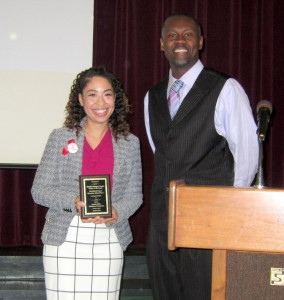 Chamber names Jennifer Burgos-Carnes Teacher of the of the Month