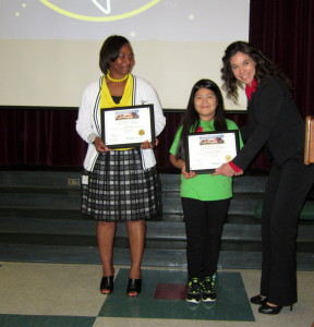 Gabriel and Bryant receive LMC Living Well Award