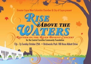 Rise Above the Waters concert times, lineup announced