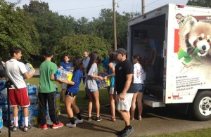 Mt. Tabor Lutheran delivers supplies to flood victims