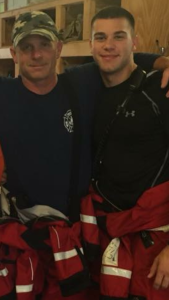 Cayce Public Safety officers dive in to help trapped man during flood