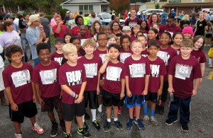 Lexington School District 2 participated in Boys Run Hard