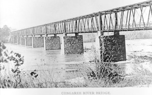 Congaree River (Gervais Street) Bridge, circa 1900
