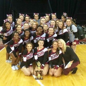 Brookland-Cayce Cheer Squad qualifies for state competition