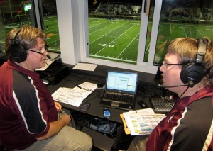 Mike Hagins and The Dove bring BC games to the fans