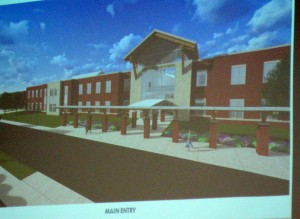 New school at Busbee site gets new design