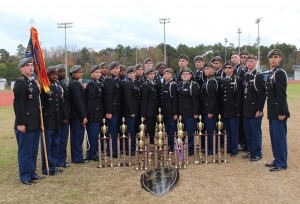 Airport JROTC Drill Team Wins 4th Competition