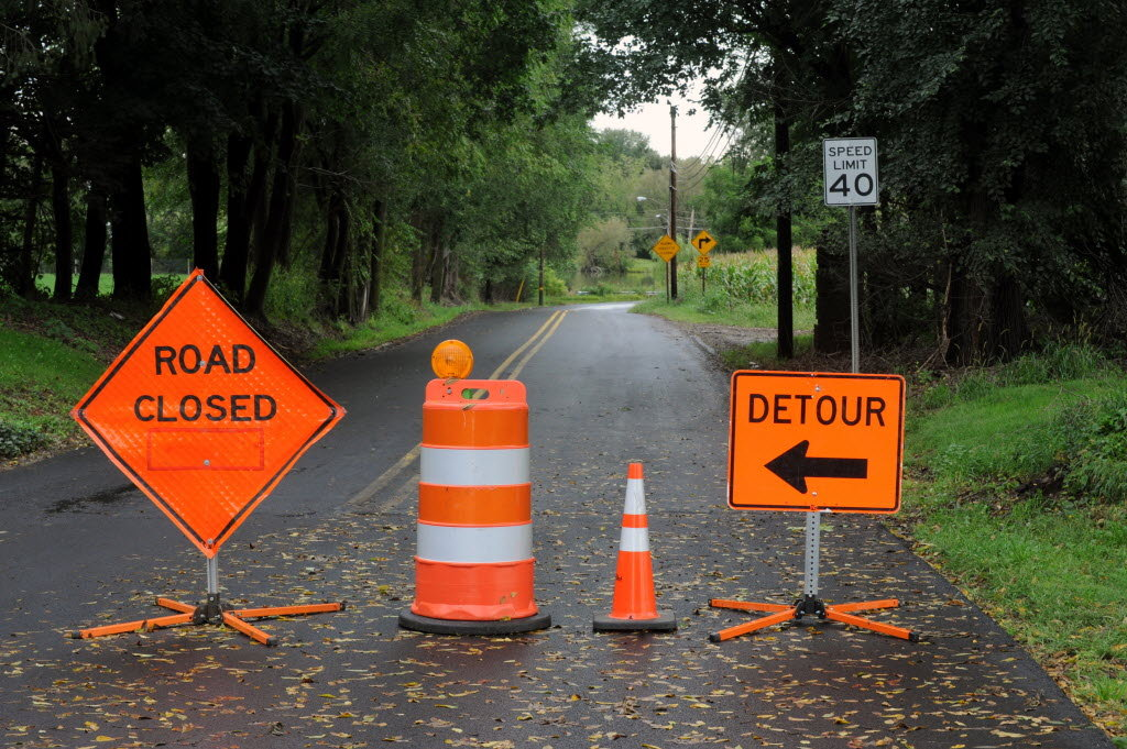 Update Corley Mill Road Closing Due To Possible Dam