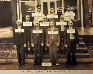 See the names of 1937 New Brookland officials in old photo
