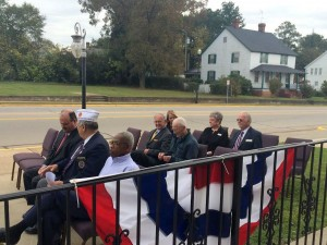 Flag dedication held Tuesday, at Thompson's