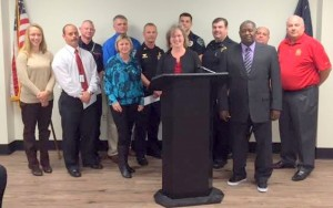 City of Cayce employees recognized for effort during flood
