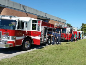 West Columbia Fire Department hosts Chamber Lunch and Learn tour, Wednesday