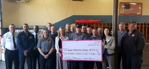 West Columbia Fire Dept. hosts Chamber's Lunch and Learn