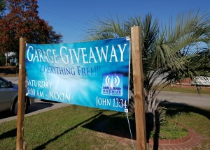 250-plus families helped at Holland Avenue Baptist's Garage Giveaway