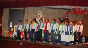 Saluda River students perform at holiday events