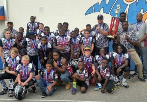 Cayce -West Columbia Jr. Bearcat football team makes national final