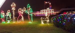 Lights before Christmas in Cayce
