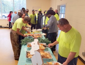 West Columbia sanitation crew thanked with lunch, gift cards
