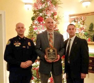 Springdale Police officers recognized for service