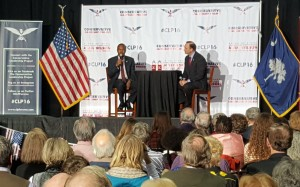 Dr. Ben Carson speaks at forum in West Columbia