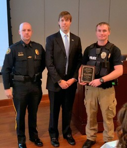 Springdale PFC Evan McWilliams is Officer of the Month