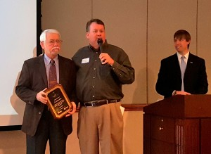 Danny Scott honored by Cayce-West Columbia Chamber