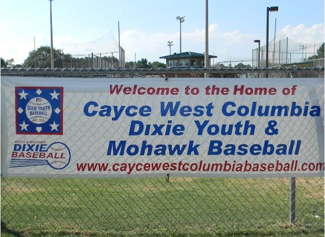 Cayce- West Columbia Dixie Youth Baseball registration is