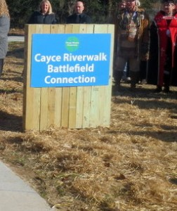 Sun's out, Cayce Riverwalk, Phase IV, Timmerman Trail open