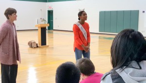 Miss South Carolina encourages Northside Middle students