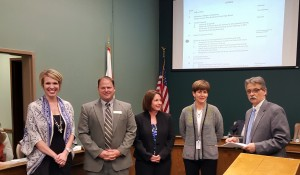 Palmetto Gold/Silver Award Winners recognized by District 2