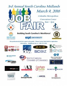 Midlands Job Fair is March 9 – Reminder