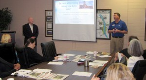 Bellune discusses advertising at CWC Chamber event