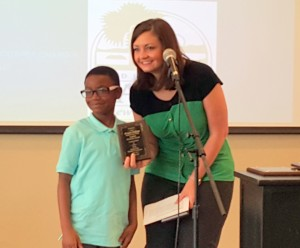 Deandre Williams, Ashley McDonald are Chamber's Student-Teacher of the Month