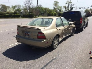 Cayce Public Safety vehicle in accident