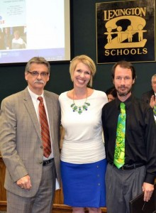 Fulmer Middle's Andy Posey wins Wilson Teaching Excellence Award