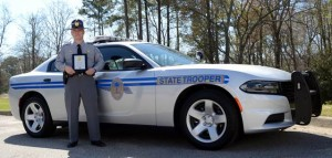 Lexington County's Gabriel Colbert, Highway Patrol Trooper of the Year