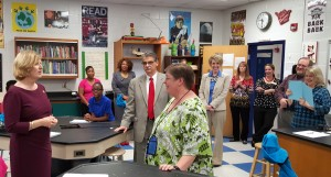 Fulmer Middle's Sabrina Williams is SC Teacher of the Year Finalist